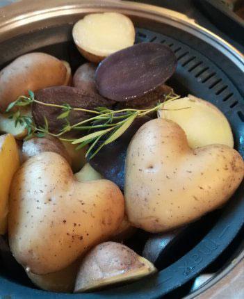 Kartoffel Angebote: Herzfoermige Kartoffel - Hof Holberg